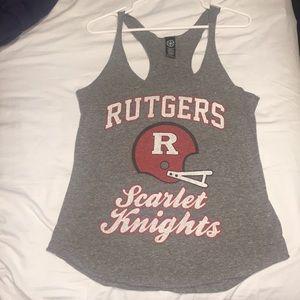 Tops - Rutgers Football Tank Top
